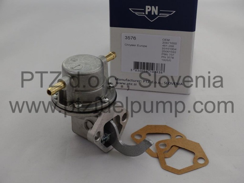 PN 3576 - Chrysler Sunbeam 930 pompe a essence