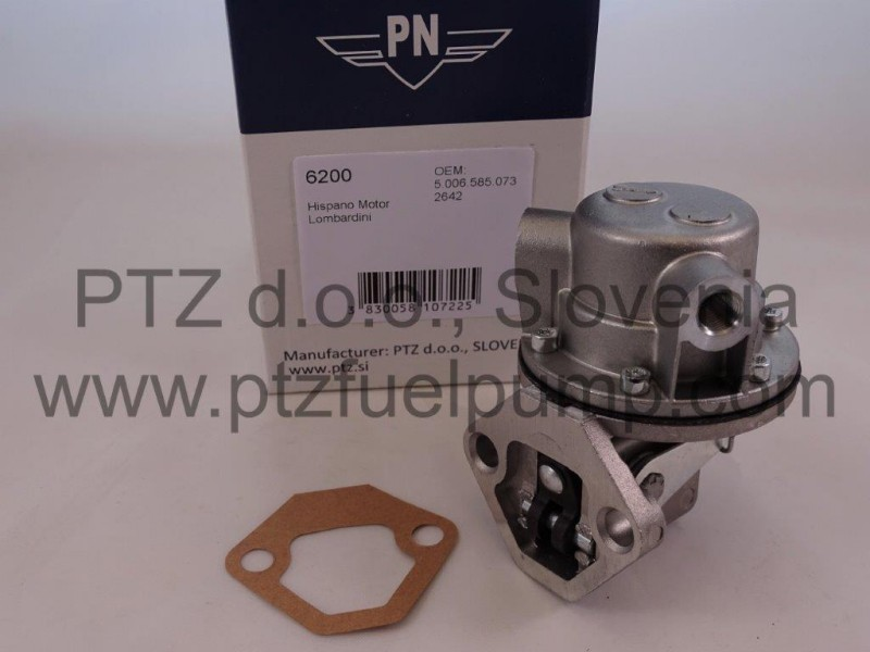 Hispano Motor Fuel pump - PN 6200