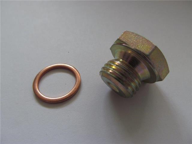 Blank Off Nut for filter M14x1,5, L19 with washer - PN 1609