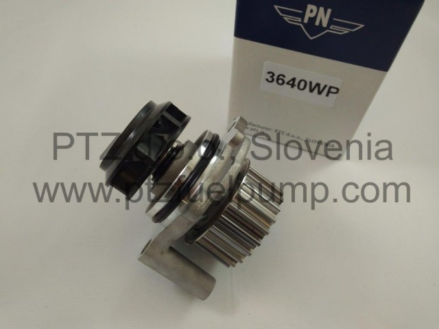 Water pump Audi, Chrysler, Dodge, Ford, Jeep, Mitshubishi, Seat, Skoda, VW - 3640WP