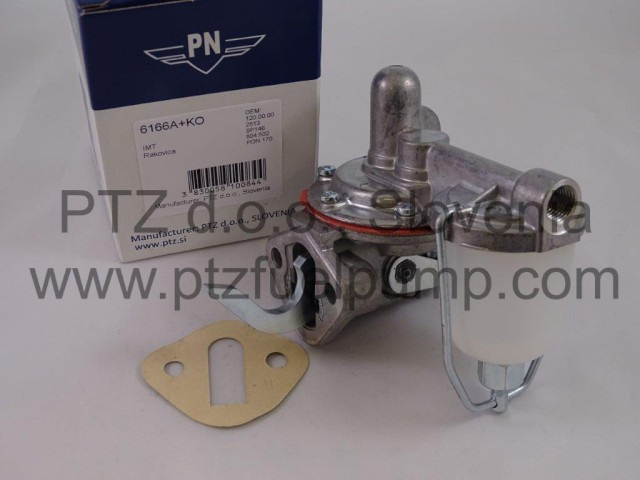 IMT 539 Fuel pump with glass cup - PN 6166A+KO